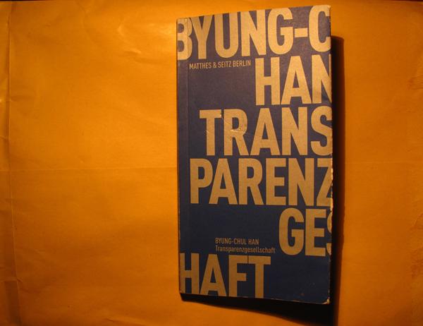Cover Transparenzgesellschaft