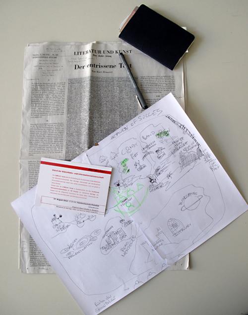 Der entrissene Text / Kritik