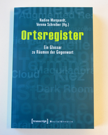Cover: Ortsregister.