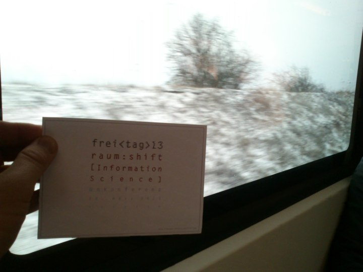On ze way to Leipzig, I