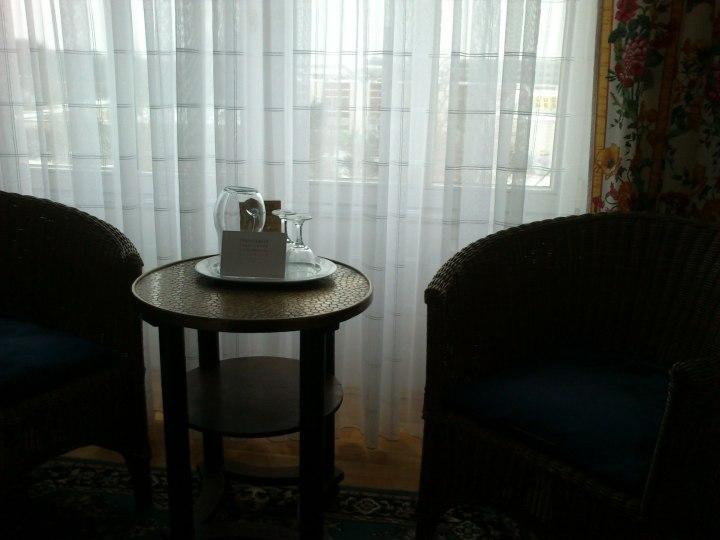 Merke: Bücherstadt. Deshalb auch Lesezimmer in den Hotels.