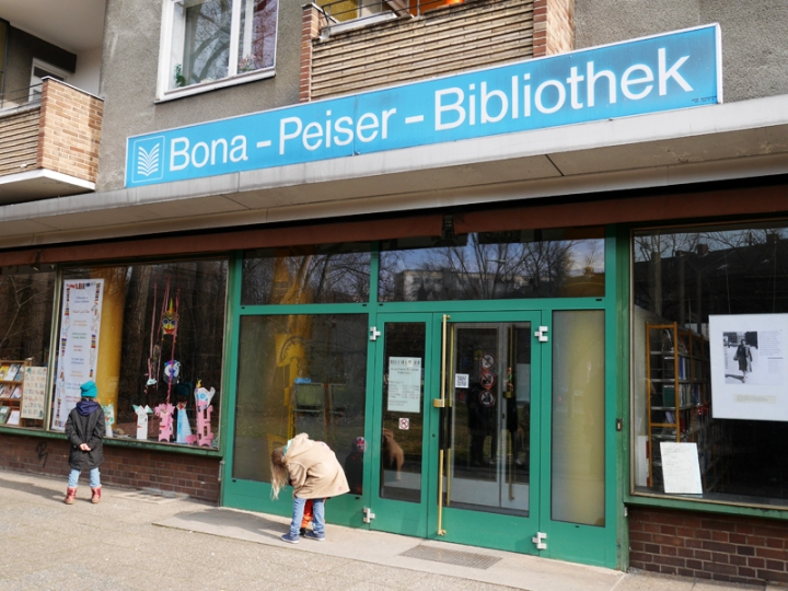 Bona-Peiser-Bibliothek in Berlin-Kreuzberg