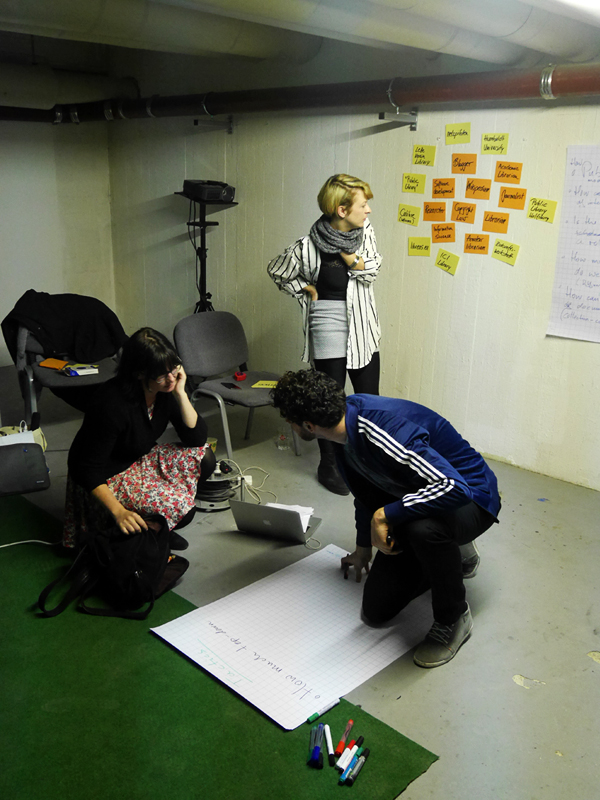 Komplizen Berlin / Workshop Bibliothek der Zukunft