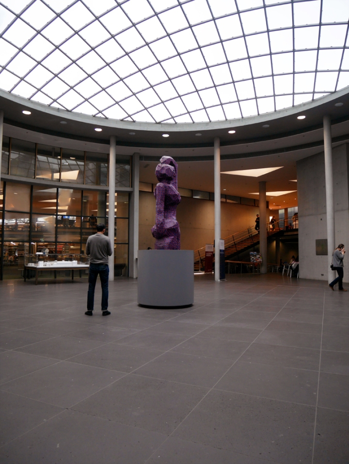 Eingangshalle der DNB Frankfurt/Main