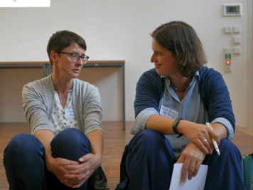 Anja Müller (digiS) und Anja Herwig (UB der HU Berlin)